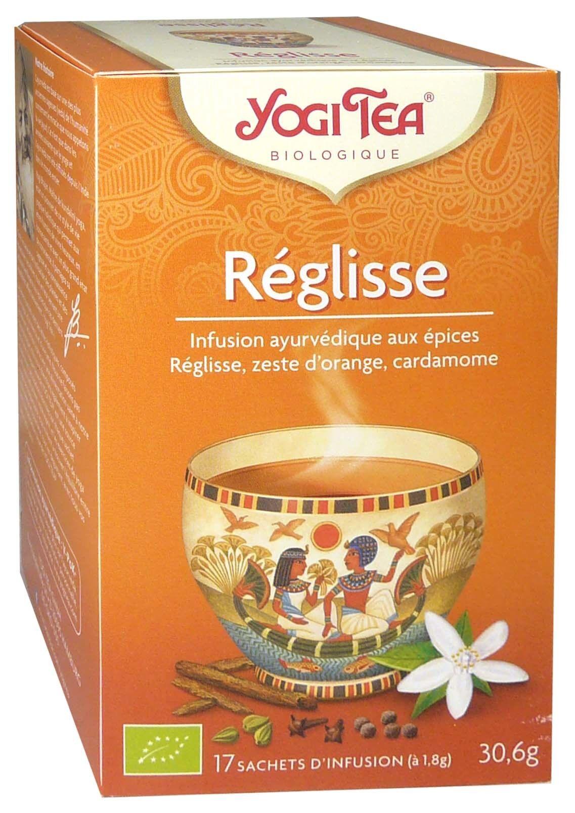 Yogi tea infusion reglisse x17 sachets