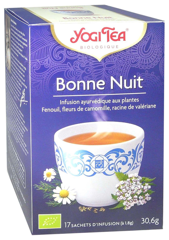 Yogi tea infusion bonne nuit x17 sachets