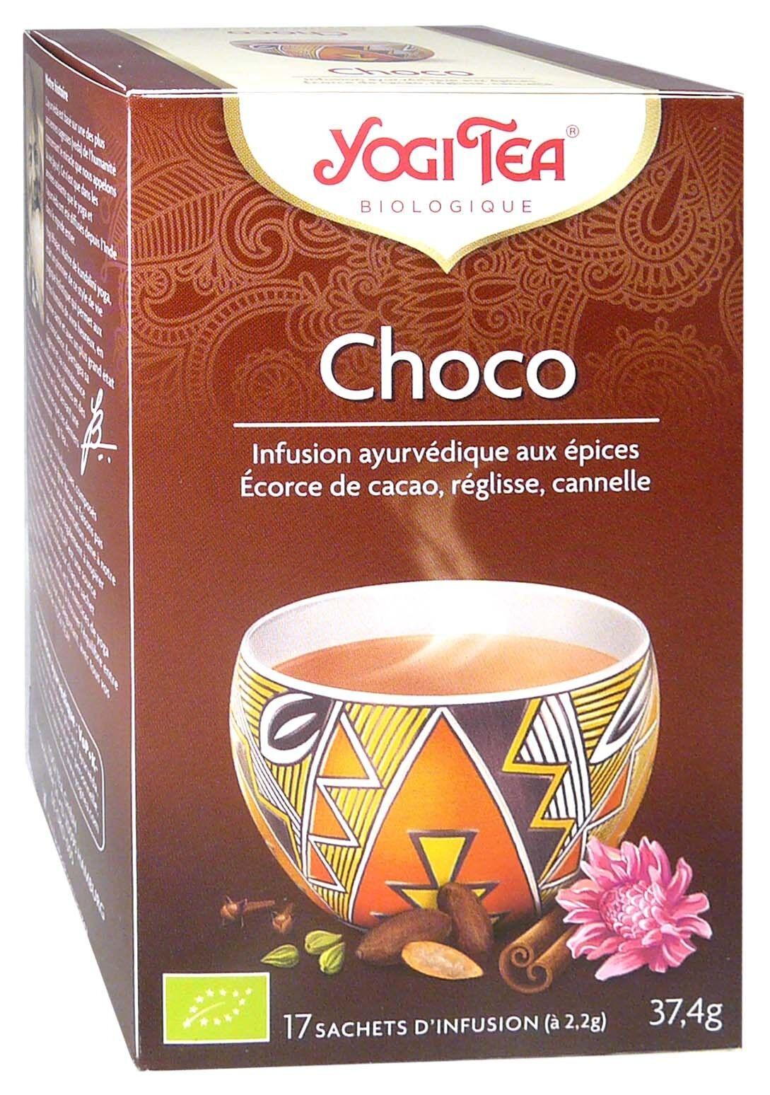 Yogi tea infusion choco x17 sachets