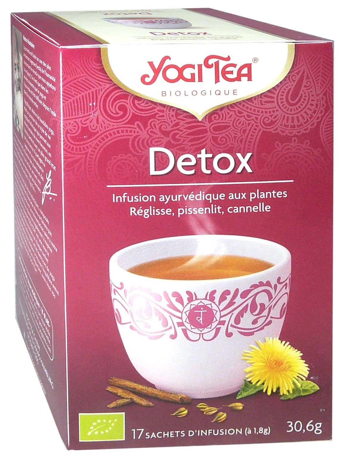 Yogi tea infusion detox x17 sachets