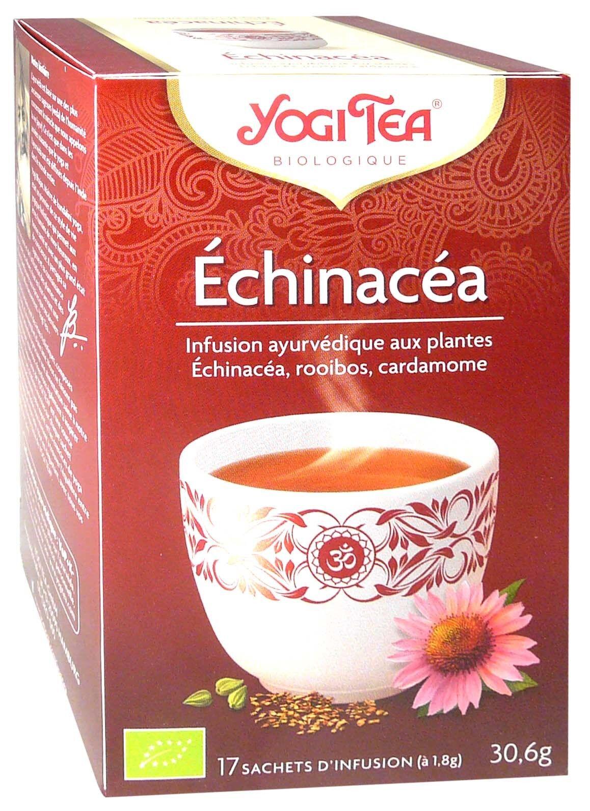 Yogi tea infusion echinacea x17 sachets