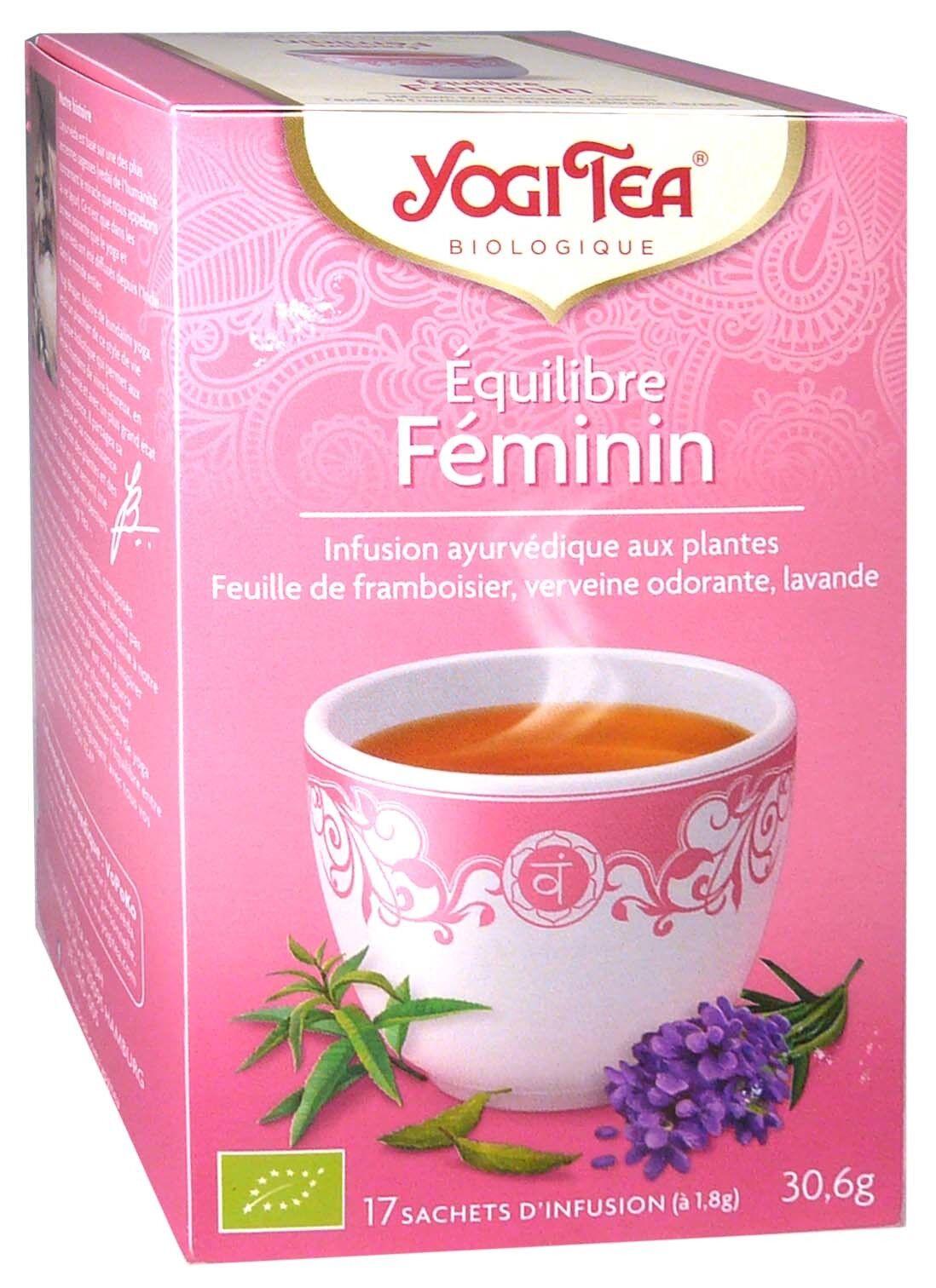 Yogi tea infusion equilibre feminin x17 sachets