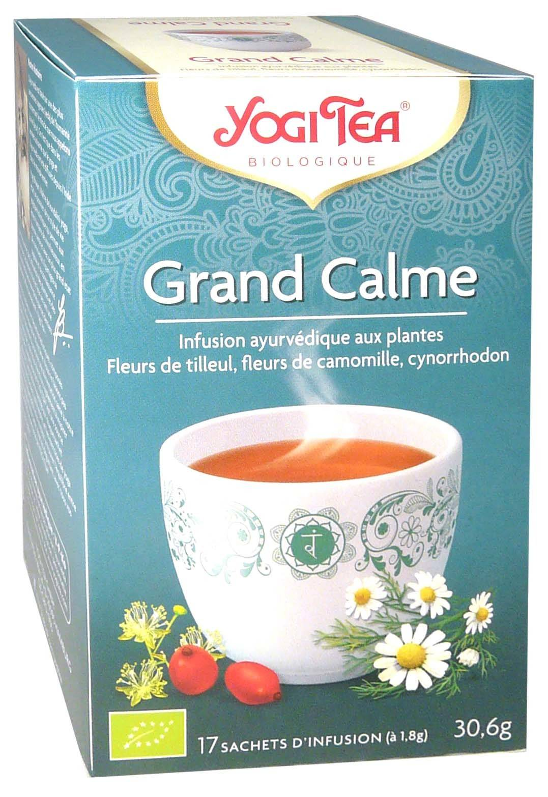 Yogi tea infusion grand calme x17 sachets