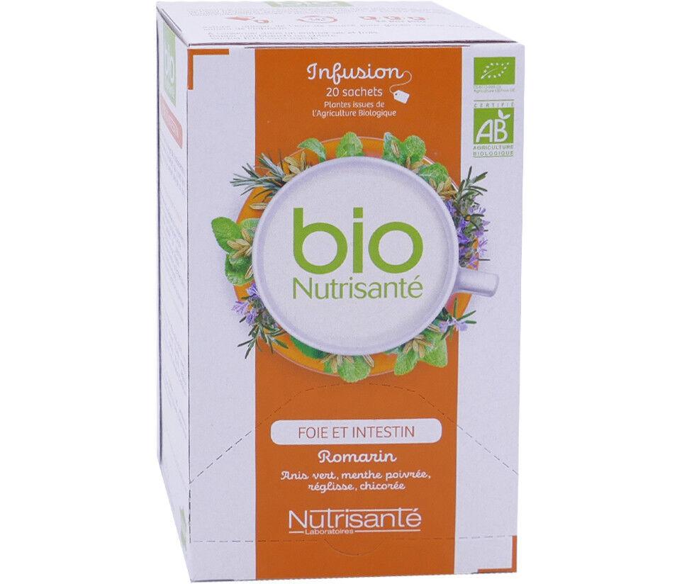 Nutrisante infusion bio foie intestin 20 sachets