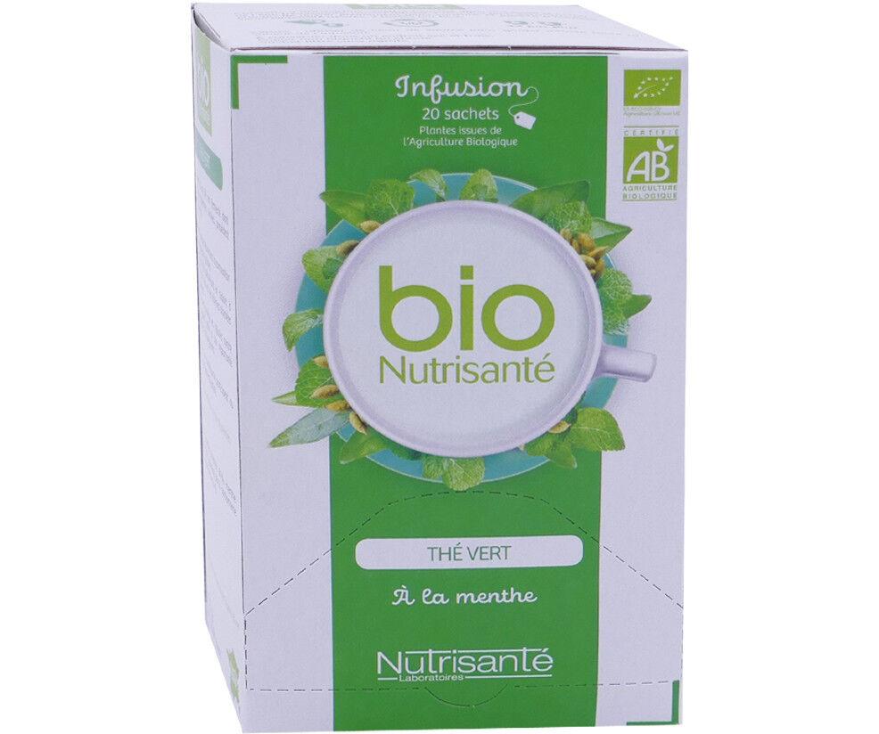 NUTRISANTE Bio nutrisante the vert a la menthe