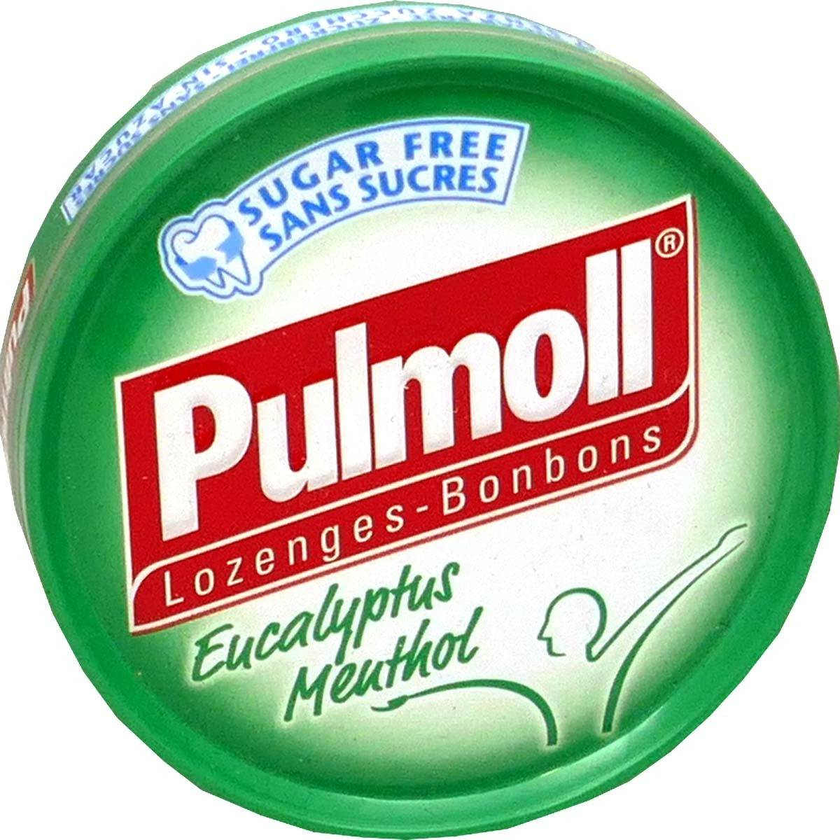 Pulmoll eucapyptus menthol pasilles gorge 45 g