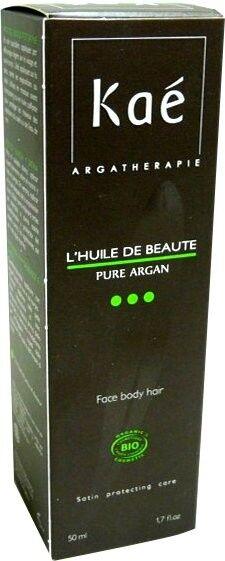 Kae l'huile de beaute pure argan 50ml