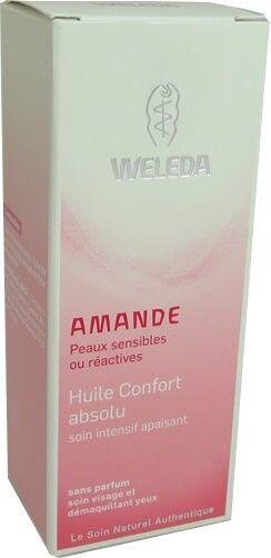 Weleda amande huile confort absolu 50ml