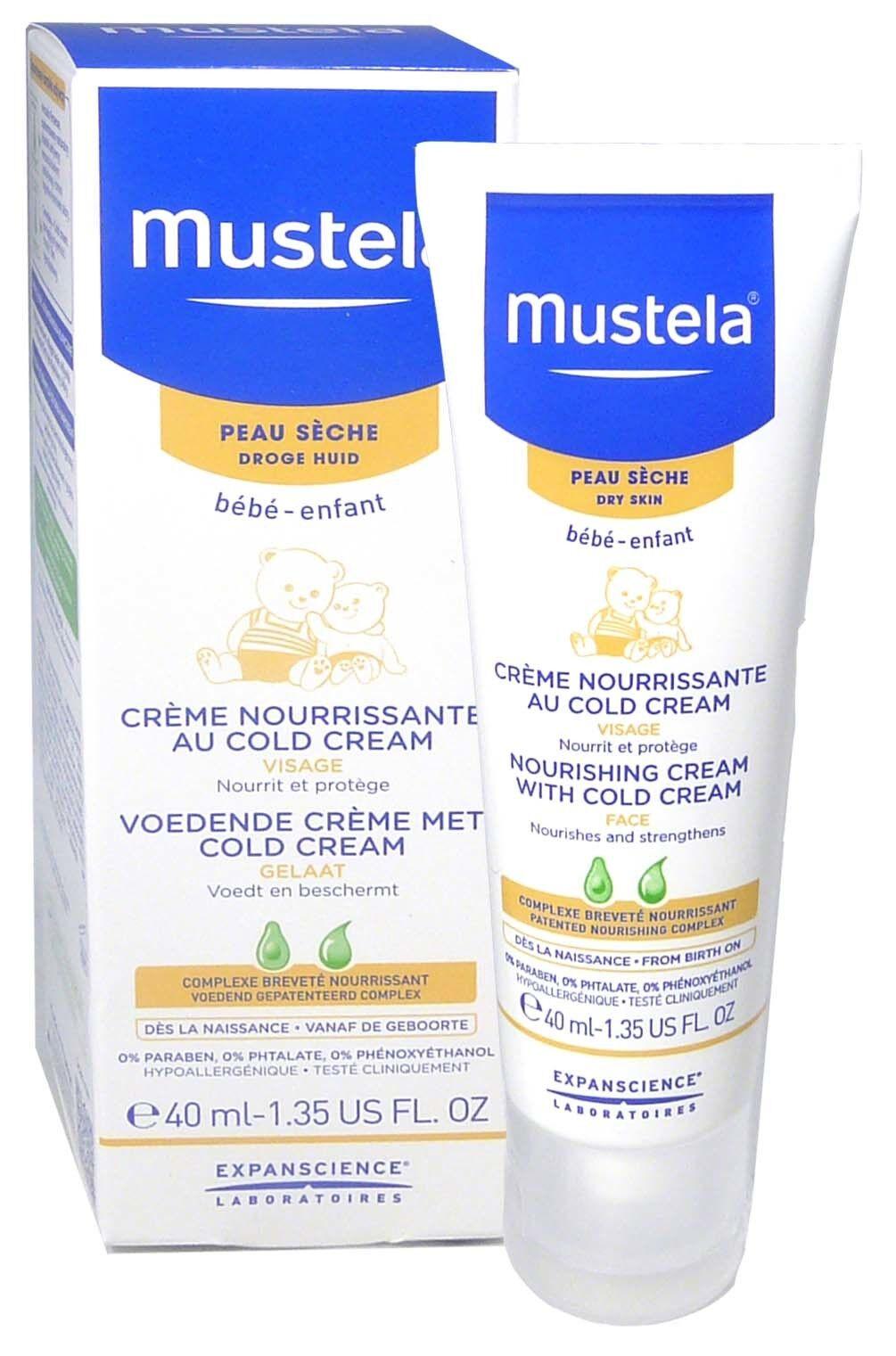Mustela creme nourrissante cold cream 40ml
