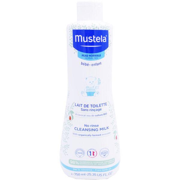 Mustela lait de toilette peau normale 750 ml