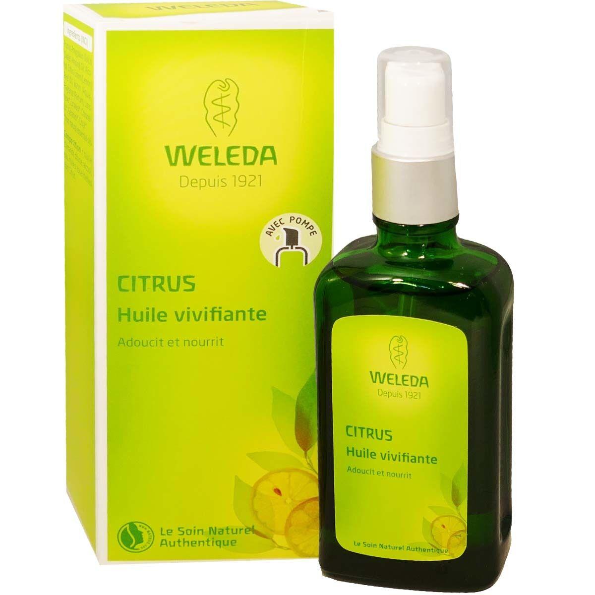 Weleda citrus huile vivifiante 100 ml