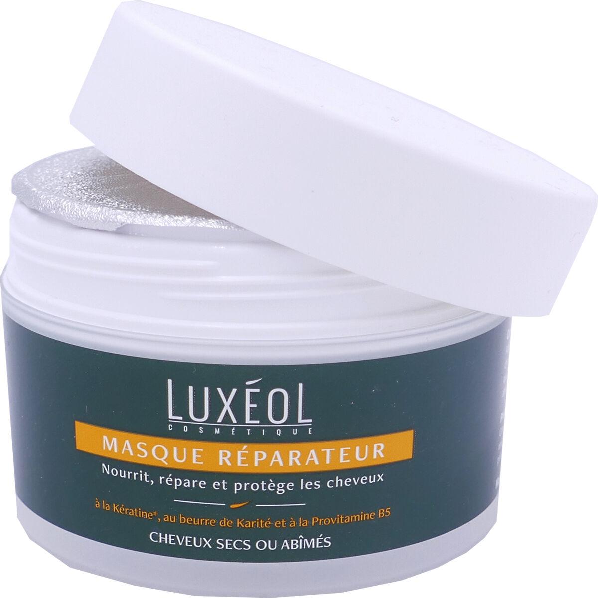 Luxeol masque reparateur cheveux secs ou abimes 200 ml