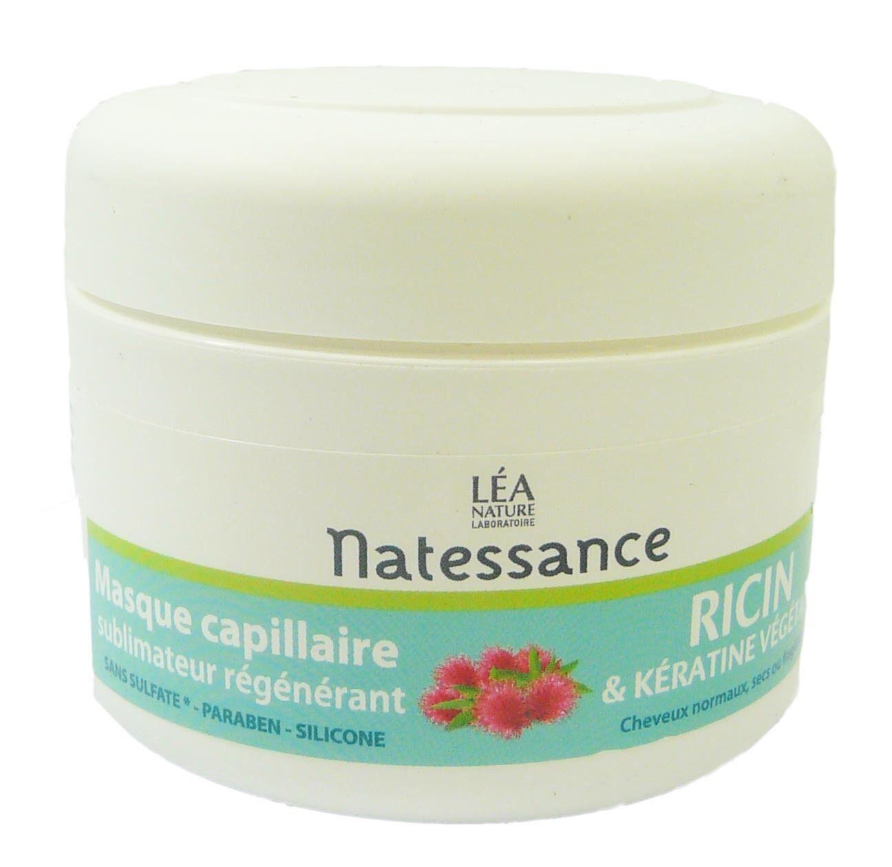 Natessance masque capillaire a l'huile de ricin 200ml