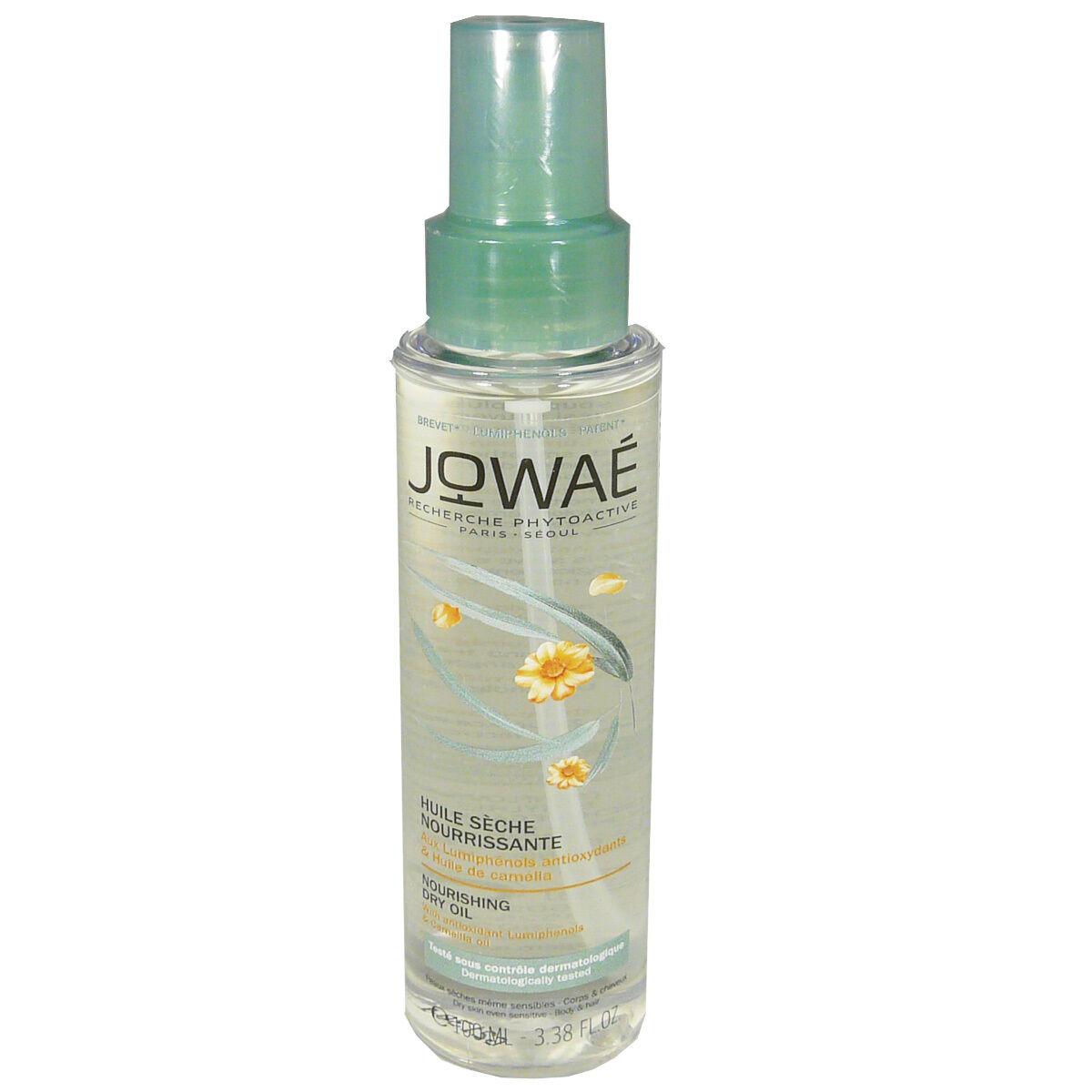 Jowae huile seche nourrissante 100 ml corps / cheveux