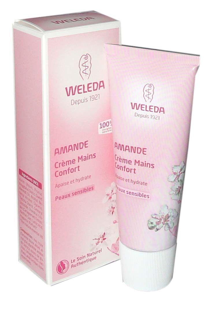Weleda amande creme mains confort 50ml