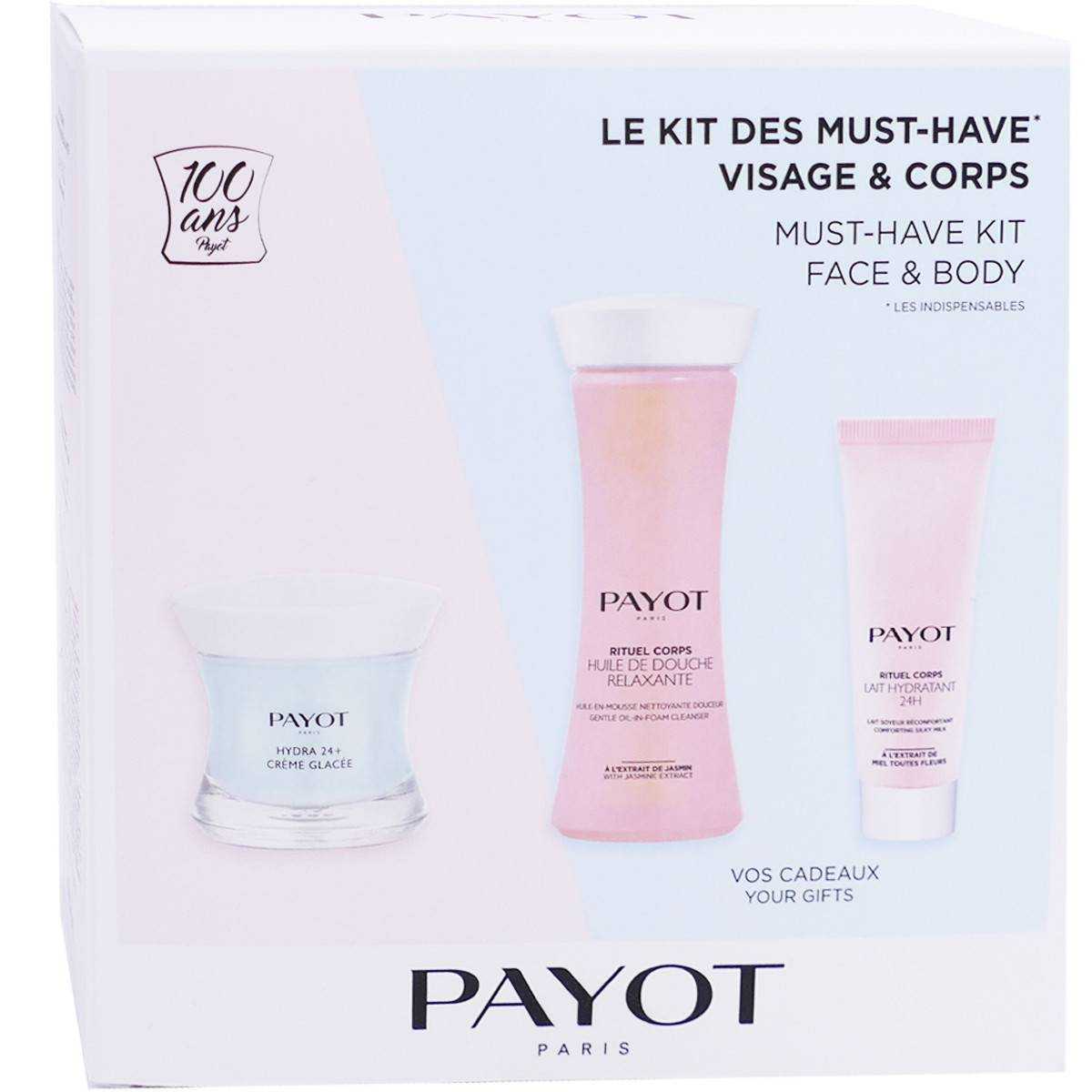 Payot kit des must-have visage & corps 3 soins