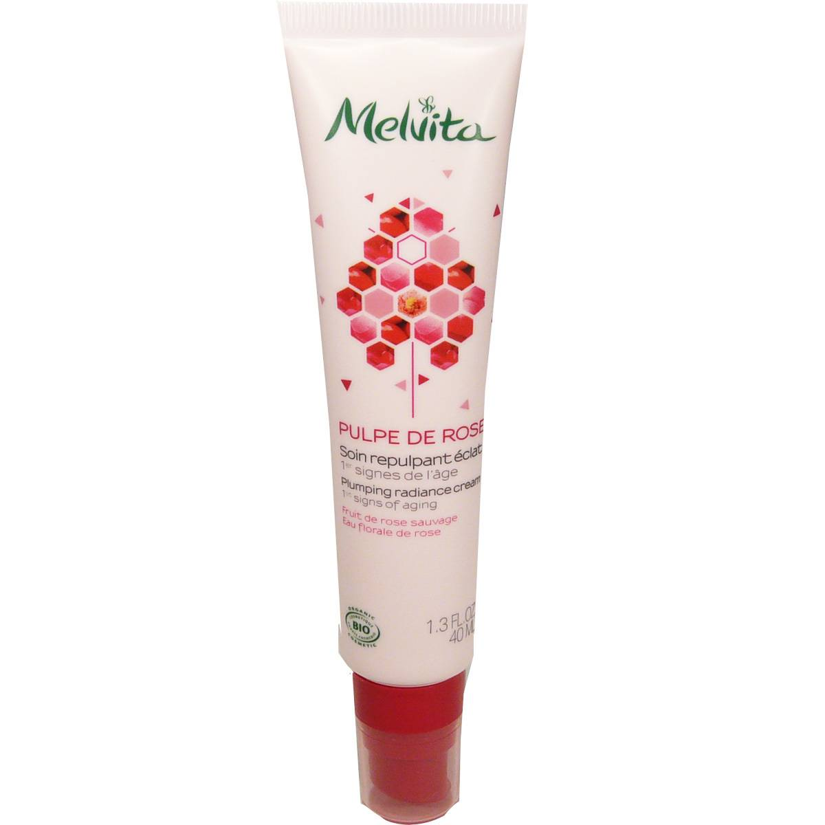 Melvita soin repulpant pulpe de rose 40 ml anti-age