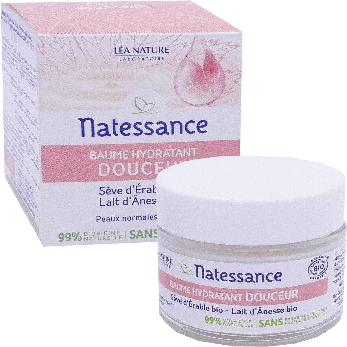 Natessance baume hydratante bio 50 ml seve d'erable