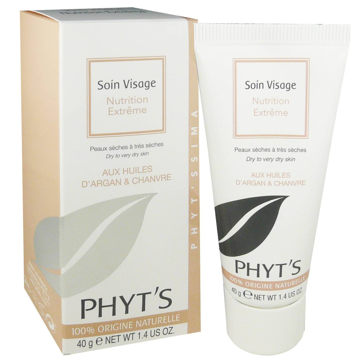Phyt's nutrition extreme huiles d'argan & chanvre 40 g