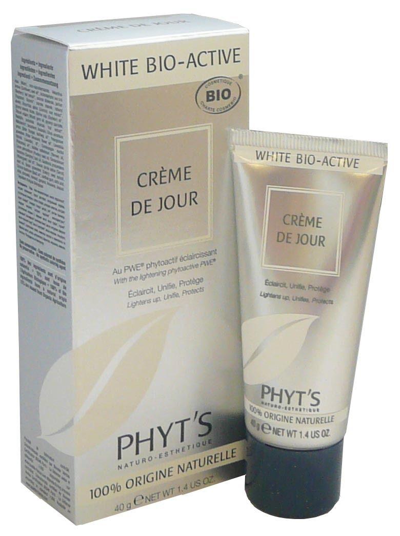 Phyt's white bio-active creme de jour 40g