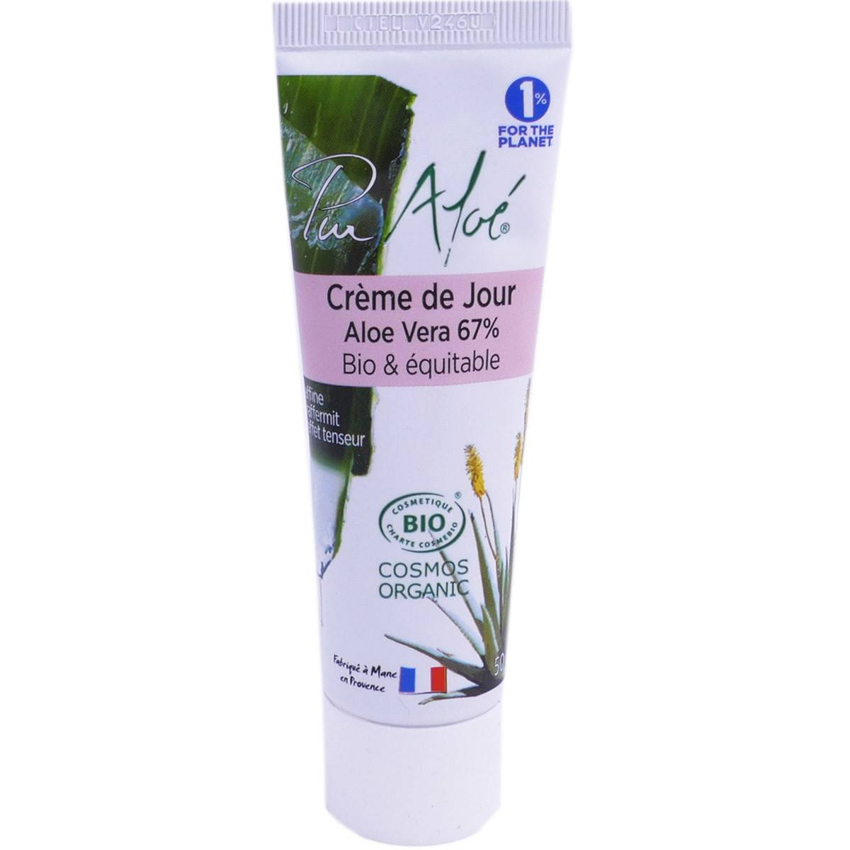 PHARM UP Pur aloe creme de jour aloe vera bio 50ml