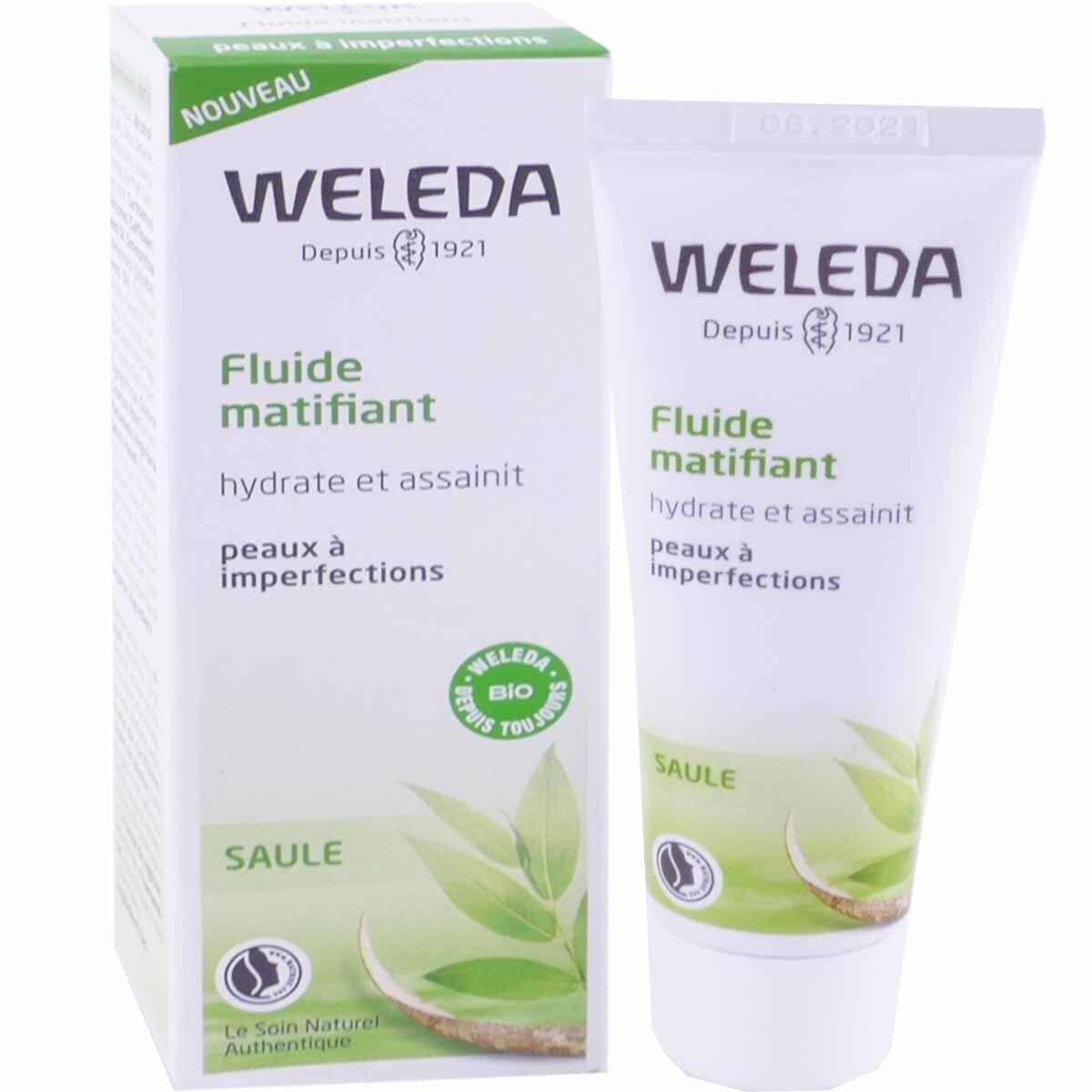 Weleda fluide matifiant saule 30 ml