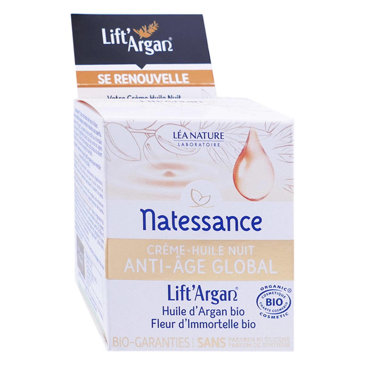 LIFT'ARGAN Lift argan  creme huile nuit anti age global50ml