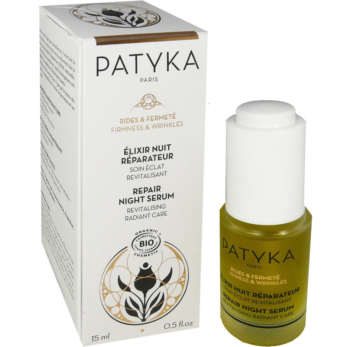 Patyka elixir nuit reparateur 15 ml bio/ vegan