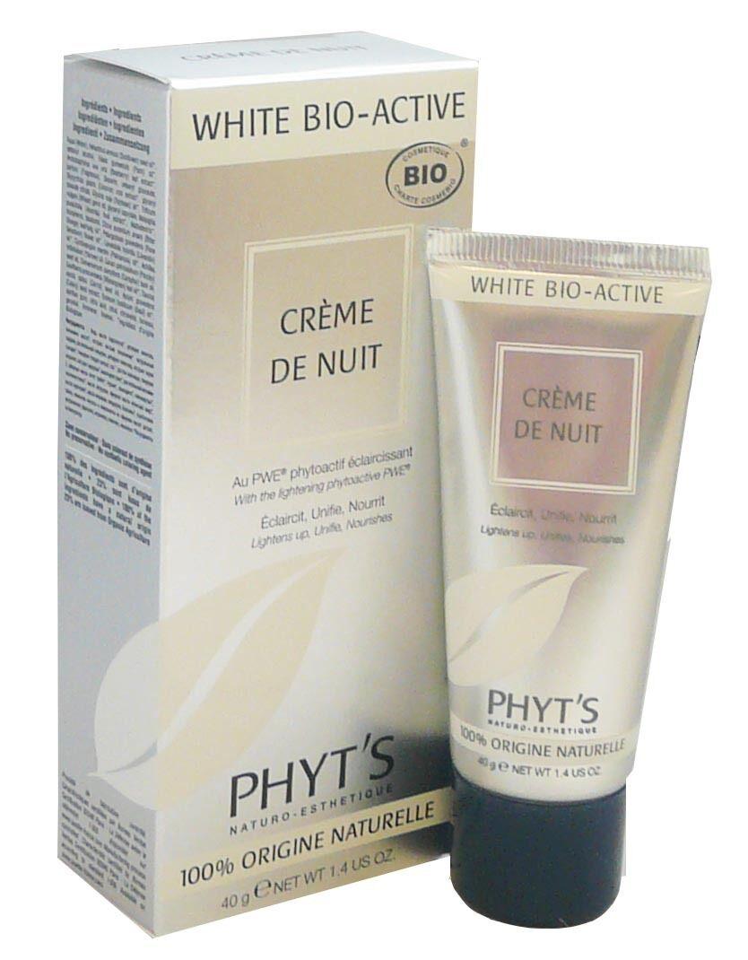 Phyt's white bio-active creme de nuit 40g
