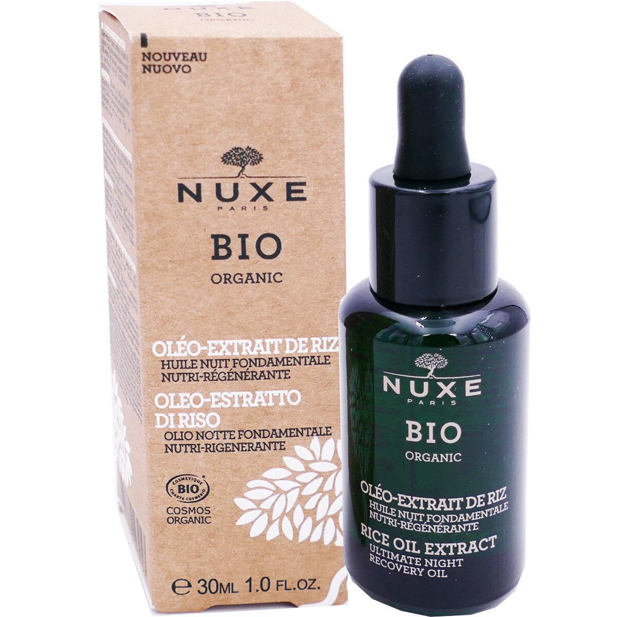 Nuxe bio oleo-extrait de riz 30 ml huile