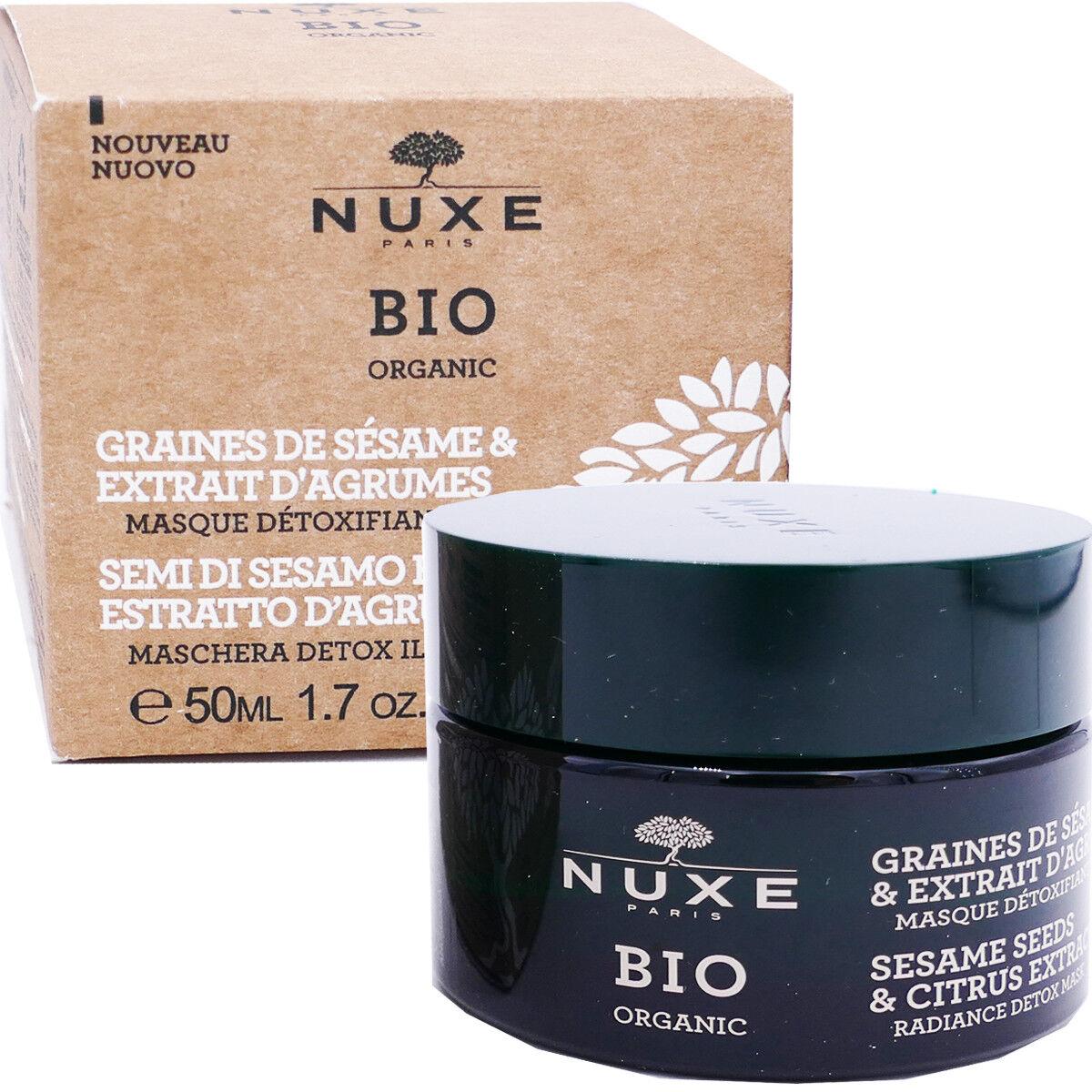 Nuxe bio masque graines de sÉsames & extrait d'agrumes 50 ml