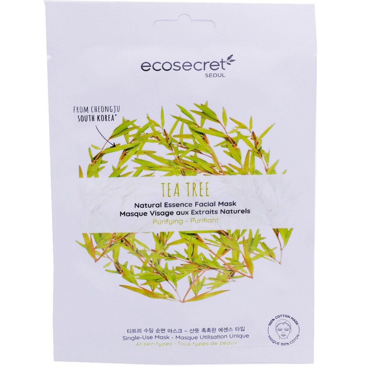 ECO SECRET Ecosecret tea tree masque cotton 20ml