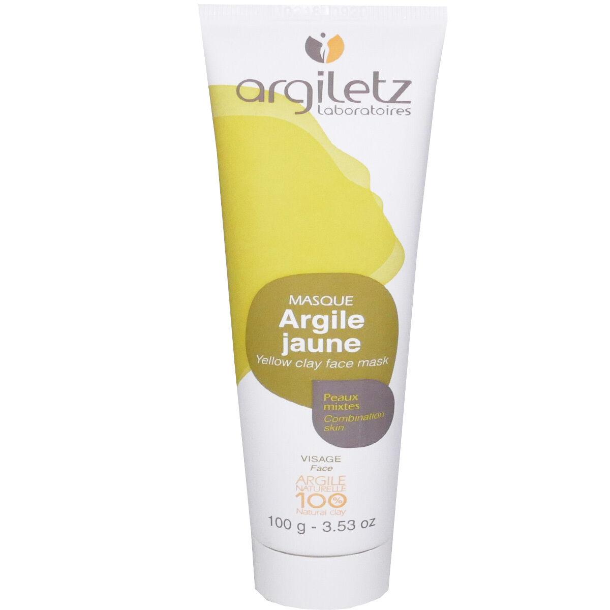 Argiletz argile jaune peaux mixtes 100 g