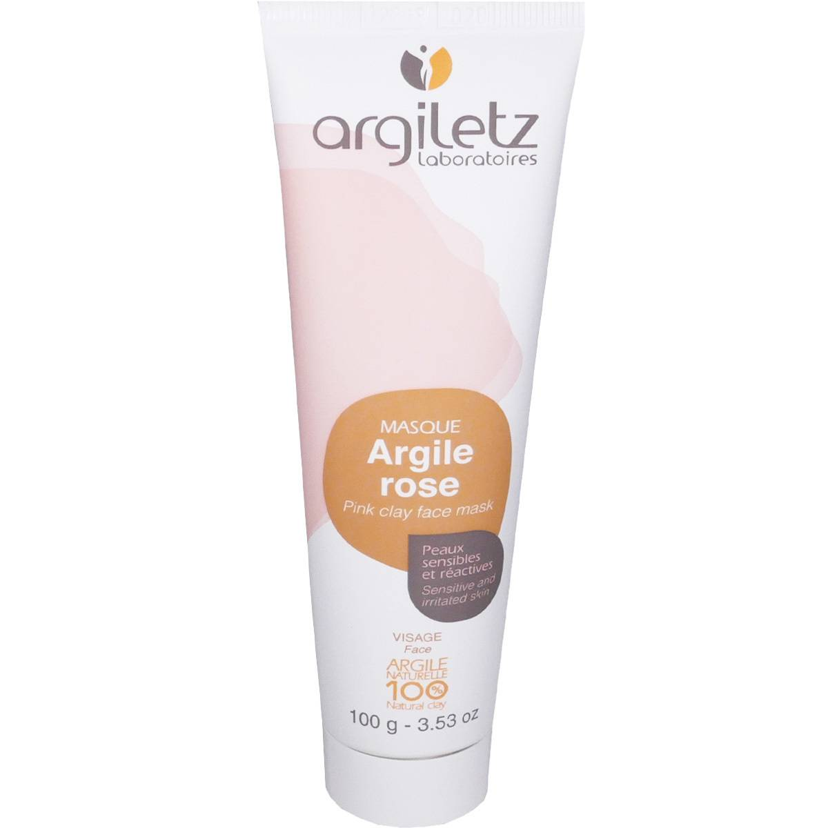 Argiletz argile rose peaux sensibles et reactives 100 g