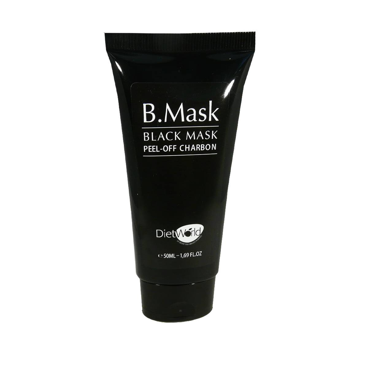 DIET WORLD B.mask black peel-off charbon dietworld 50 ml