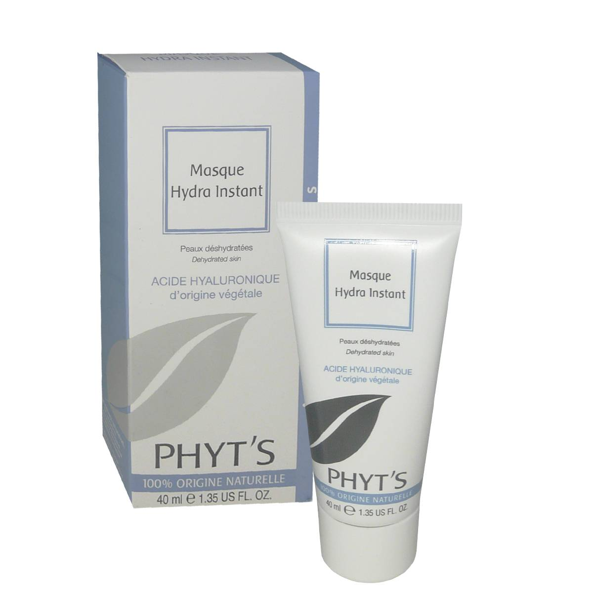 Phyt's masque hydra-instant 40 ml acide hyaluronique