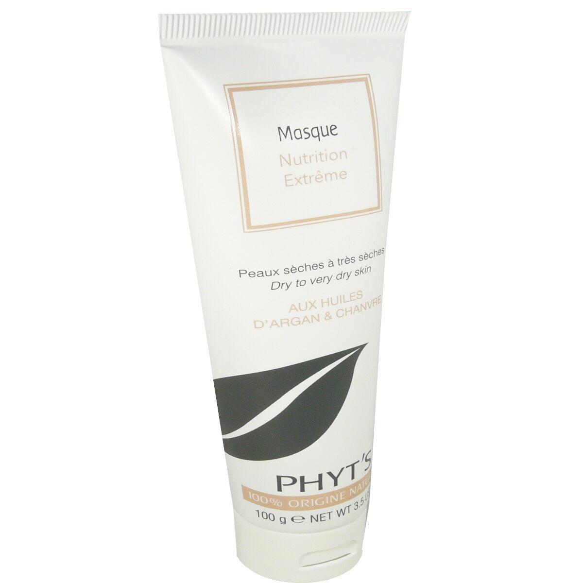 Phyt's nutrition masque huiles d'argan & chanvre 100 g