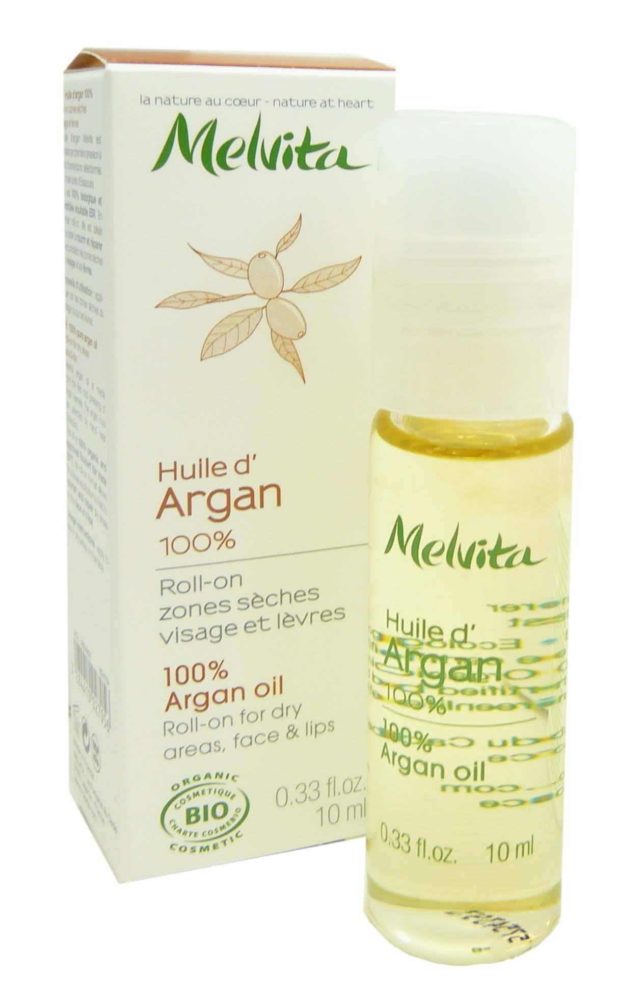 Melvita roll on huile d'argan 100% 10ml