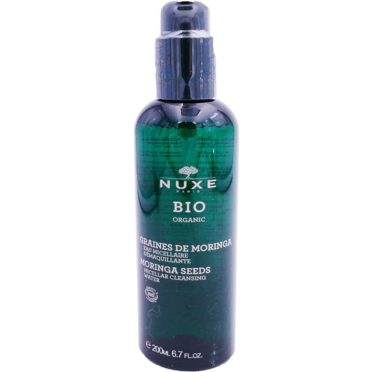 Nuxe bio graines de moringa 200 ml eau micellaire 200 ml