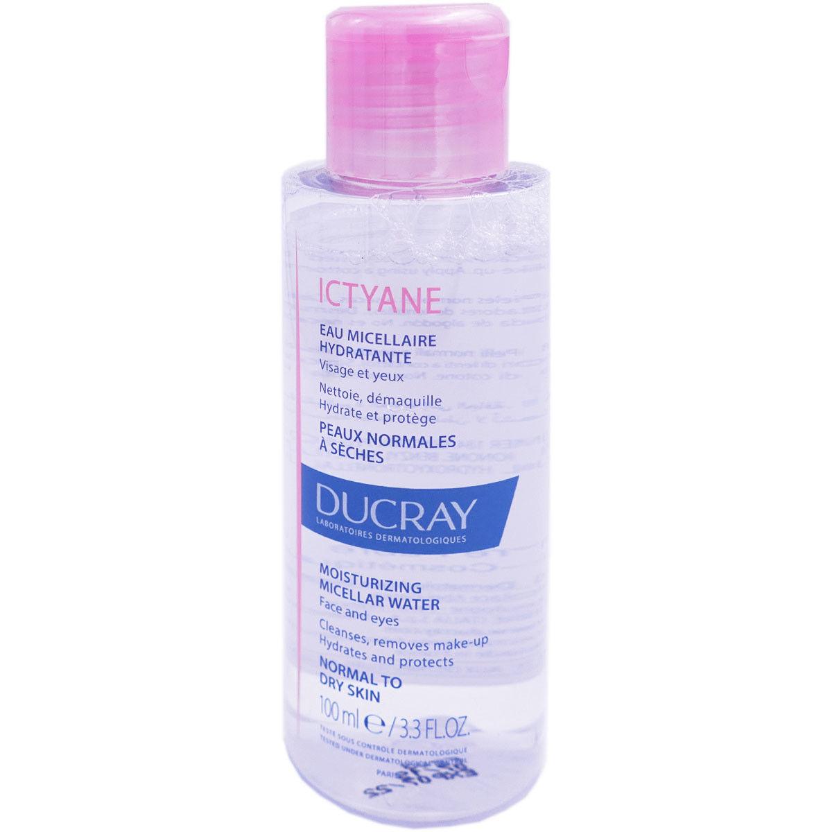 Ducray ictyane eau micellaire hydratante 100ml