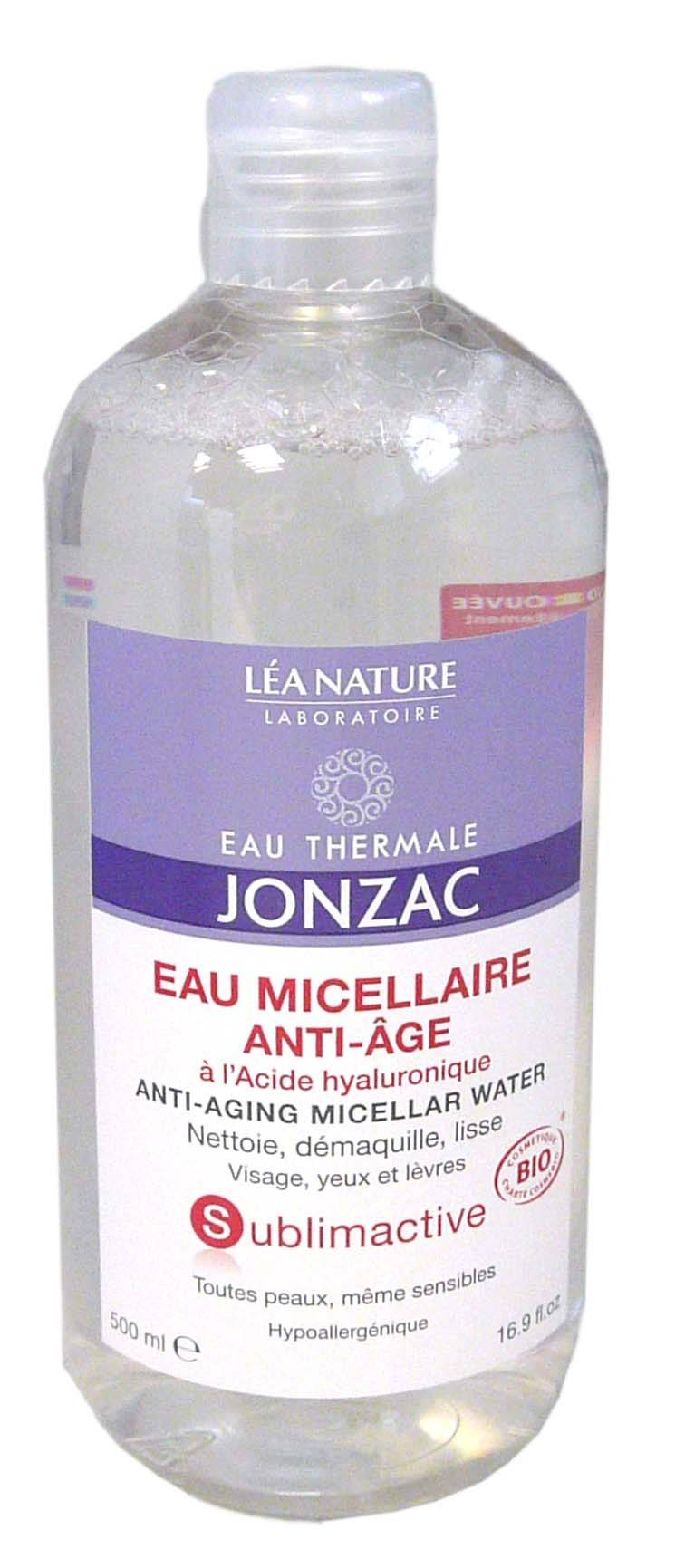 Jonzac sublimactive eau micellaire anti age 500ml
