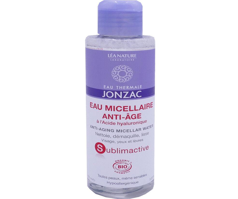 Jonzac sublimactive eau micellaire anti-age bio 150 ml