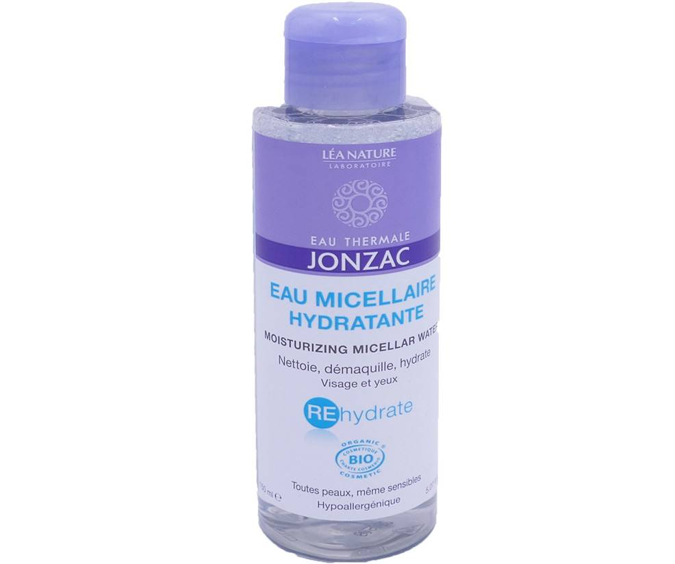 Jonzac eau micellaire hydratante 150 ml bio