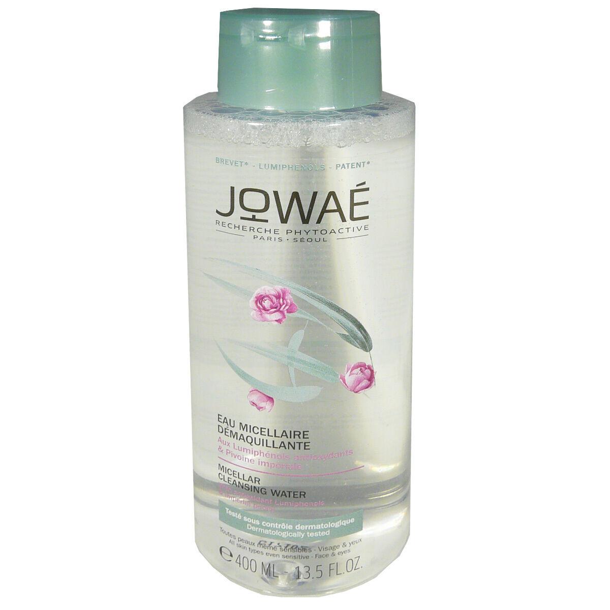 Jowae eau micellaire demaquillante 400 ml