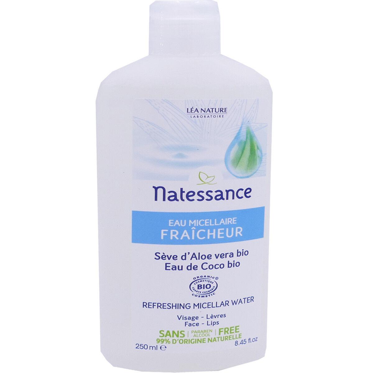 Natessance eau micellaire seve d'aloe vera 250 ml bio