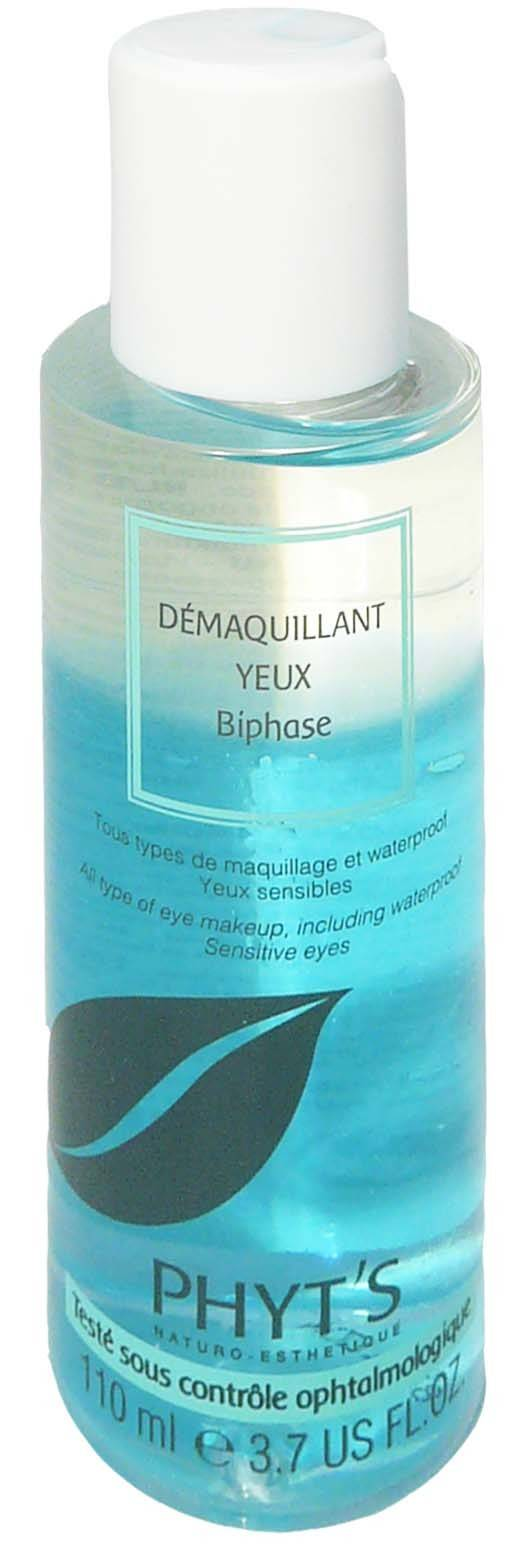 Phyt's demaquillant yeux biphase yeux sensibles 110ml