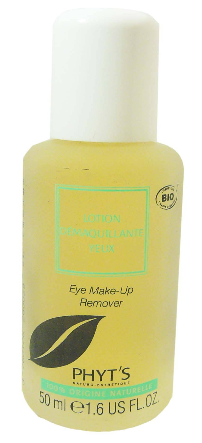Phyt's lotion demaquillante yeux 50ml