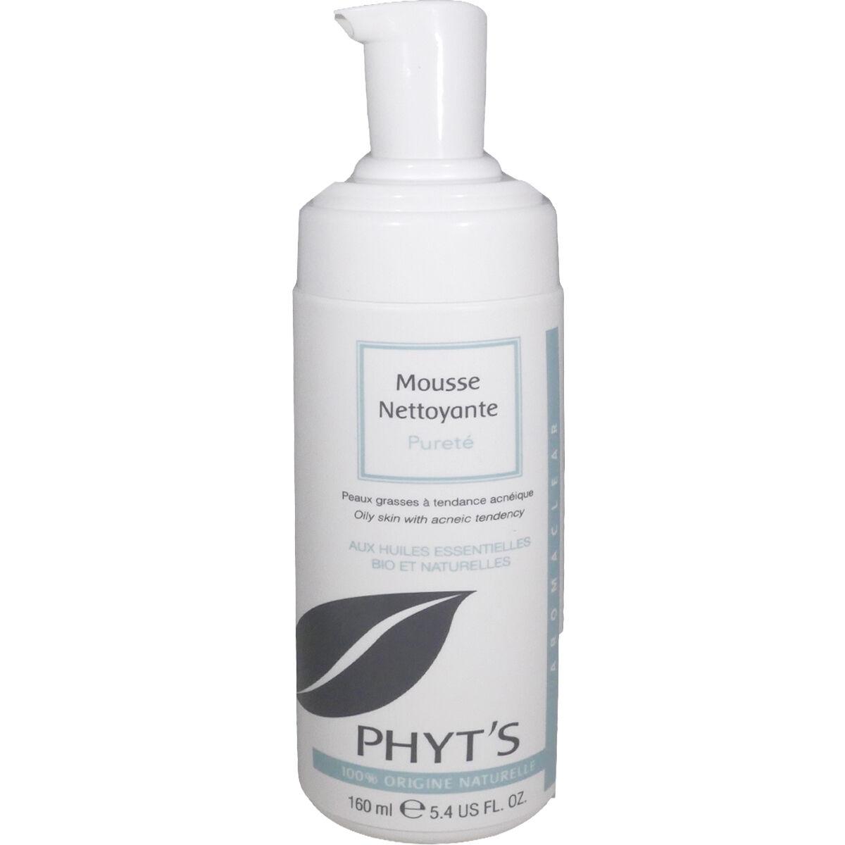Phyt's mousse nettoyante purete 160 ml