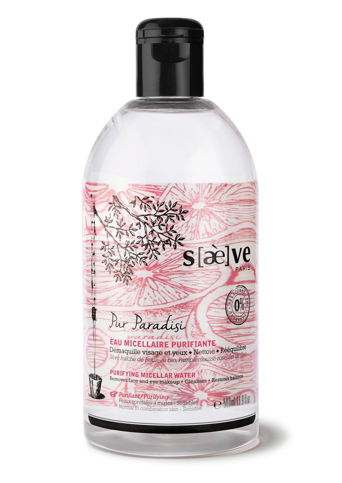 Saeve pur paradisi eau micellaire 500 ml