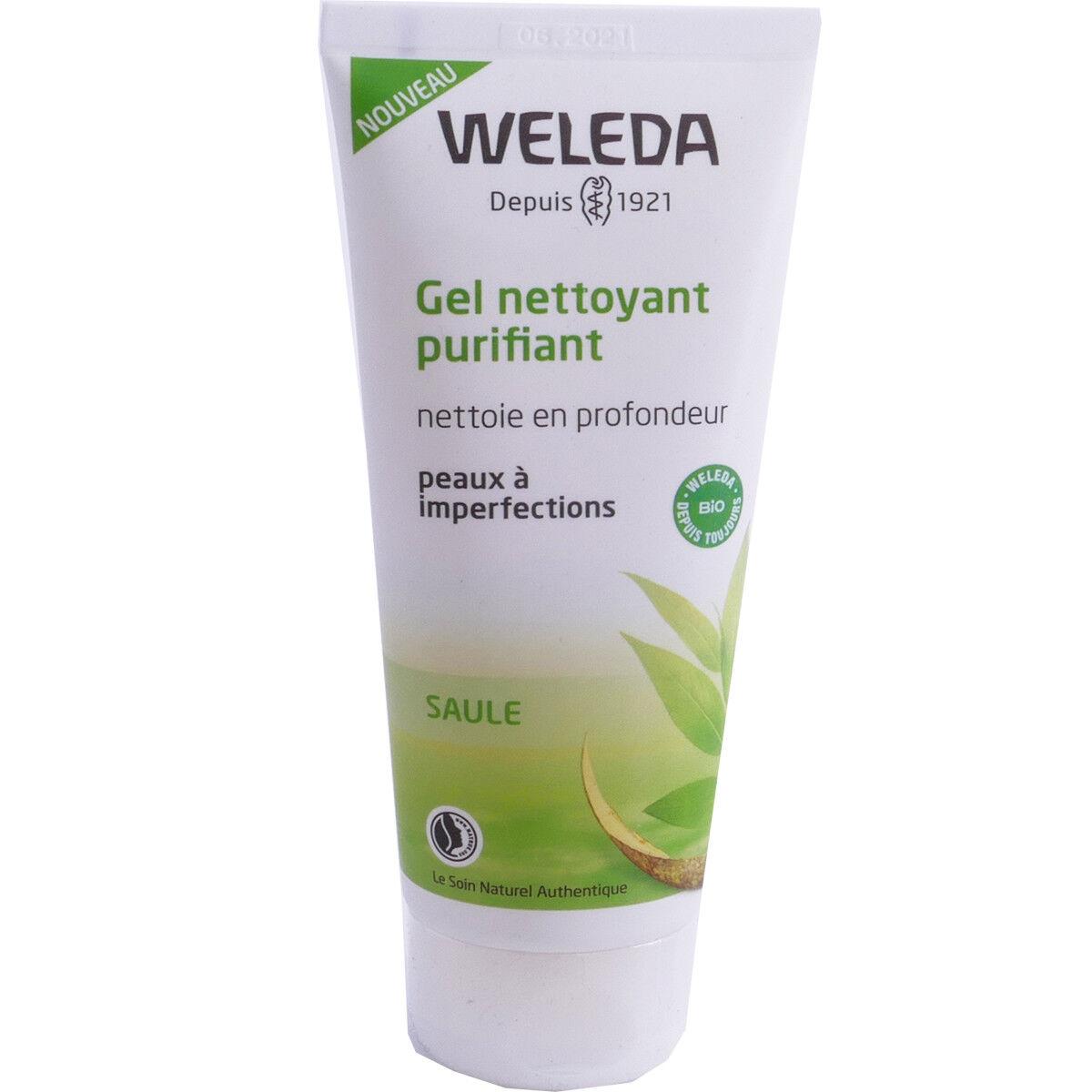 Weleda gel nettoyant purifiant 100 ml bio